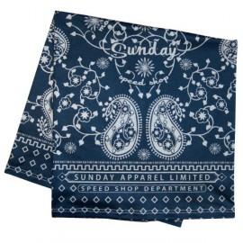 Pañuelo sabado rápido modelo heritage azul