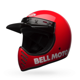 casco Bell Moto 3 Rojo