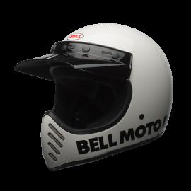 casco Bell Moto 3 blanco
