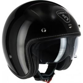 casco Ubike Challenge negro brillo