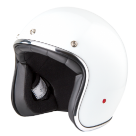 casco Stormer pearl white