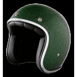 casco Stormer pearl metalflake verde
