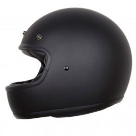 "casco Iguana custom ""el villano"" (Homologado) negro mate"