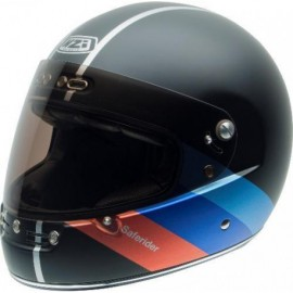 CASCO NZI STREET TRACK 2 GRAPHICS B-SAFERIDER BLACK TALLA XL