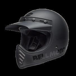 CASCO Bell Moto-3 Helmet Blackout Matte/Gloss