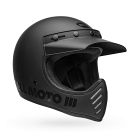 CASCO Bell Moto-3 Helmet Blackout Matte/Gloss
