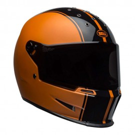 CASCO BELL ELIMINATOR HELMET - RALLY BLACK / ORANGE