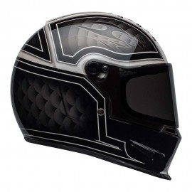 CASCO BELL ELIMINATOR HELMET - OUTLAW BLACK / WHITE