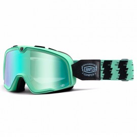 GAFAS 100 % BARSTOW ORNAMENTAL CONIFER RACING GOGGLE W/ MIRROR GREEN LENS