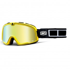 Gafas 100 % BARSTOW BURNWORTH RACING GOGGLE W/ MIRROR GOLD LENS