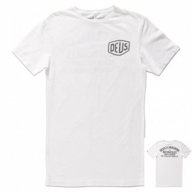 Camiseta Deus Venice address blanca