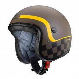 Casco CABERG FREERIDE FORMULA marron/amr