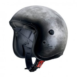 Casco Caberg Freeride iron ( efecto metal )
