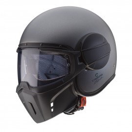 Casco CABERG GHOST gun metal mate