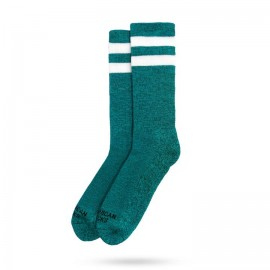 CALCETINES AMERICAN SOCKS MID HIGH TURQUOISE NOISE