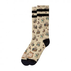 CALCETINES AMERICAN SOCKS MID HIGH MANEKI NEKO