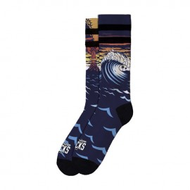 CALCETINES AMERICAN SOCKS MID HIGH TSUNAMI