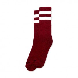 CALCETINES AMERICAN SOCKS MID HIGH RED NOISE, 8 INCH
