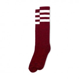 CALCETINES AMERICAN SOCKS KNEE HIGH RED NOISE, 19 INCH