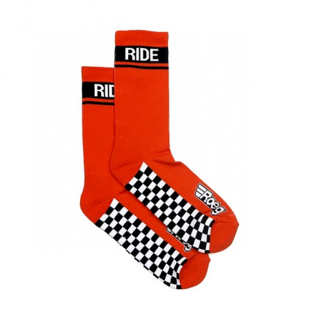 CALCETINES ROEG EARLY FINISH SOCKS ORANGE