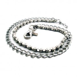CADENA AMIGAZ BIKE CHAIN & SHACKLE DOUBLE WALLET CHAIN