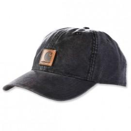 GORRA CARHARTT ODESSA CANVAS CAP BLACK