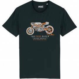 CAMISETA THE PURE RACER BLACK
