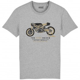 CAMISETA THE PURE RACER GREY