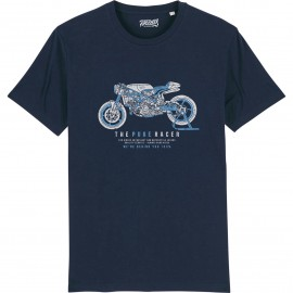 CAMISETA THE PURE RACER BLUE NAVY