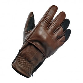 GUANTES BILTWELL BELDEN GLOVES CHOCOLATE/BLACK CE APPR.