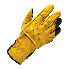 GUANTES BILTWELL BORREGO GLOVES GOLD/BLACK CE APPR.