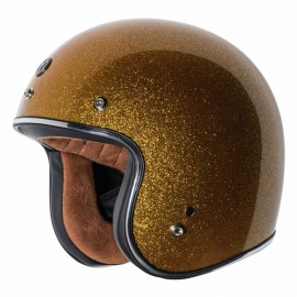 CASCO TORC T-50 Gold Superflake Helmet