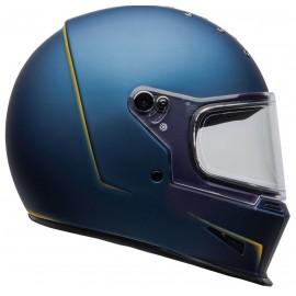 Casco Bell Eliminator VANISH Azul Mate/Amarillo
