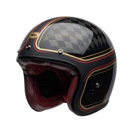 Casco Bell Custom 500 Carbon RSD CHECKMATE Negro/Oro