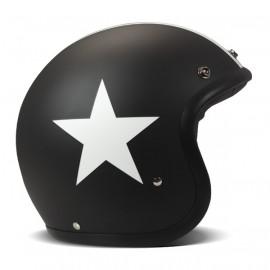 Casco DMD Vintage Estrella Negro
