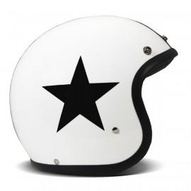 Casco DMD Vintage Estrella blanco