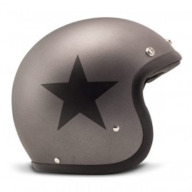 casco DMD Star gris mate