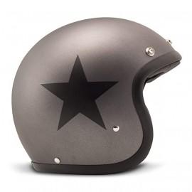 casco DMD Star gris mate
