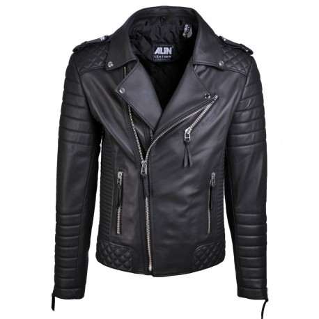 CHAQUETA ALIN VENUS BLACK LEATHER