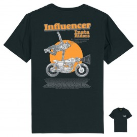 CAMISETA THE INFLUENCER BLACK