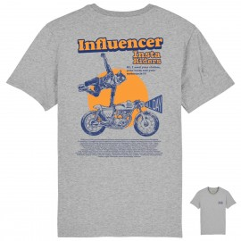 CAMISETA THE INFLUENCER LIGHT BLUE