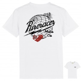 CAMISETA AROUND THE WORLD WHITE