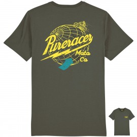 CAMISETA AROUND THE WORLD KHAKI