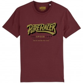 CAMISETA THE SPEED SHOP BURGUNDY