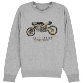 SUDADERA THE PURE RACER GREY