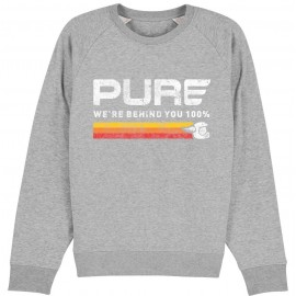 SUDADERA TRI STRIPE GREY