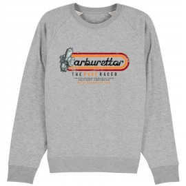 SUDADERA CARBURETTOR 2 HEATHER GREY