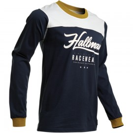 JERSEY HALLMAN GP VINTAGE BLUE