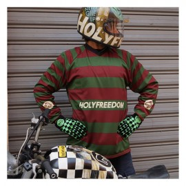 JERSEY HOLY FREEDOM FREDDY DIRTY JERSEY BORDEAUX/GREEN