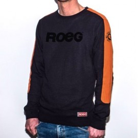JERSEY ROEG RANDY SWEAT BLACK/ORANGE